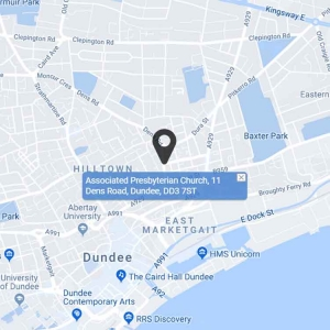 Dundee Associated Presbyterian Church-map
